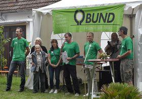 Aktive der Ortsgruppe Bensheim auf dem Sommerfest 2019