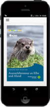 Handy mit BUND-App
